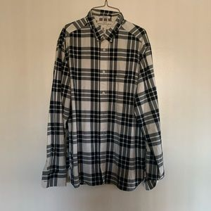 H&M Button Down Plaid Shirt